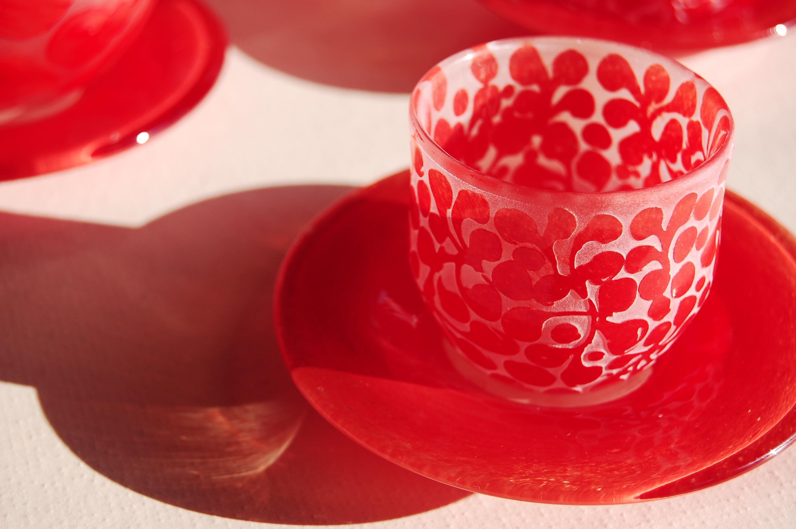 2018年10月1日(月)~10月13日(土)Yukiko Nakano Glass Works 「日々是紅日」