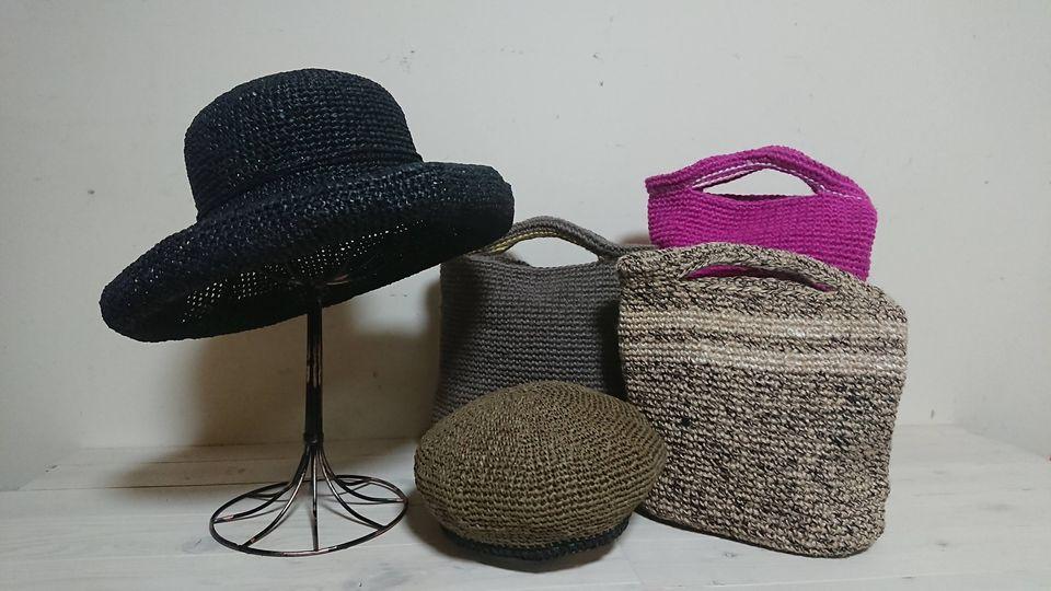 2021年7月19日(月)~31日(土)和紙の帽子と麻のバッグ展/仕切り直し